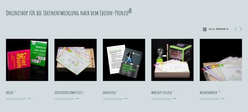 Webshop Ideen-toolbox