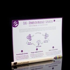 DIAS Denken in Analogie-Szenarien - Methodenkarte für Innovationsworkshops online bestellen