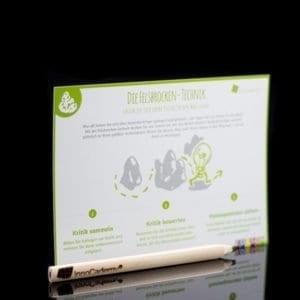 Die Felsbrocken-Technik - Methodenkarte für Innovationsworkshops online bestellen