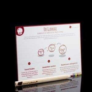 Die Glaskugel - Methodenkarte für Innovationsworkshops online bestellen