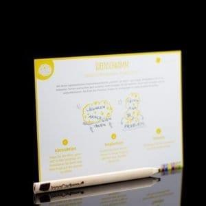Ideenschwamm - Methodenkarte für Innovationsworkshops online bestellen