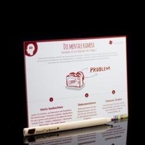 Die mentale Kamera - Methodenkarte für Innovationsworkshops online bestellen