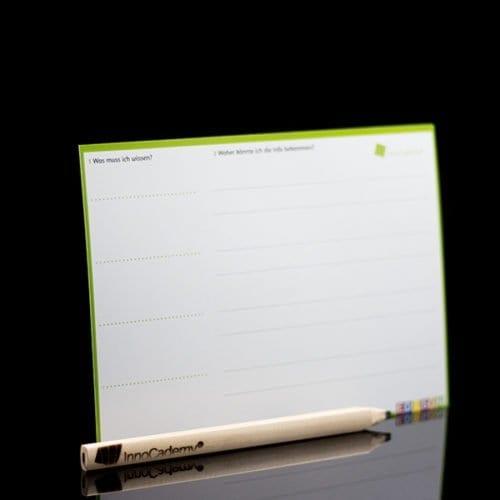 Das schwarze Loch Methodenkarte Rückseite - Ideenentwicklung nach dem Edison-Prinzip Workshopmaterial im Onlineshop