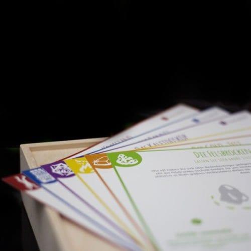 Die Methodenkarten für die systematische Ideenentwicklung aus der Edison Toolbox