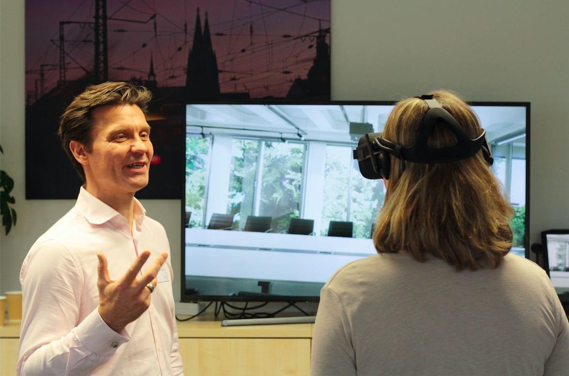 Virtual Realitiy im Einsatz von Trans4Mat