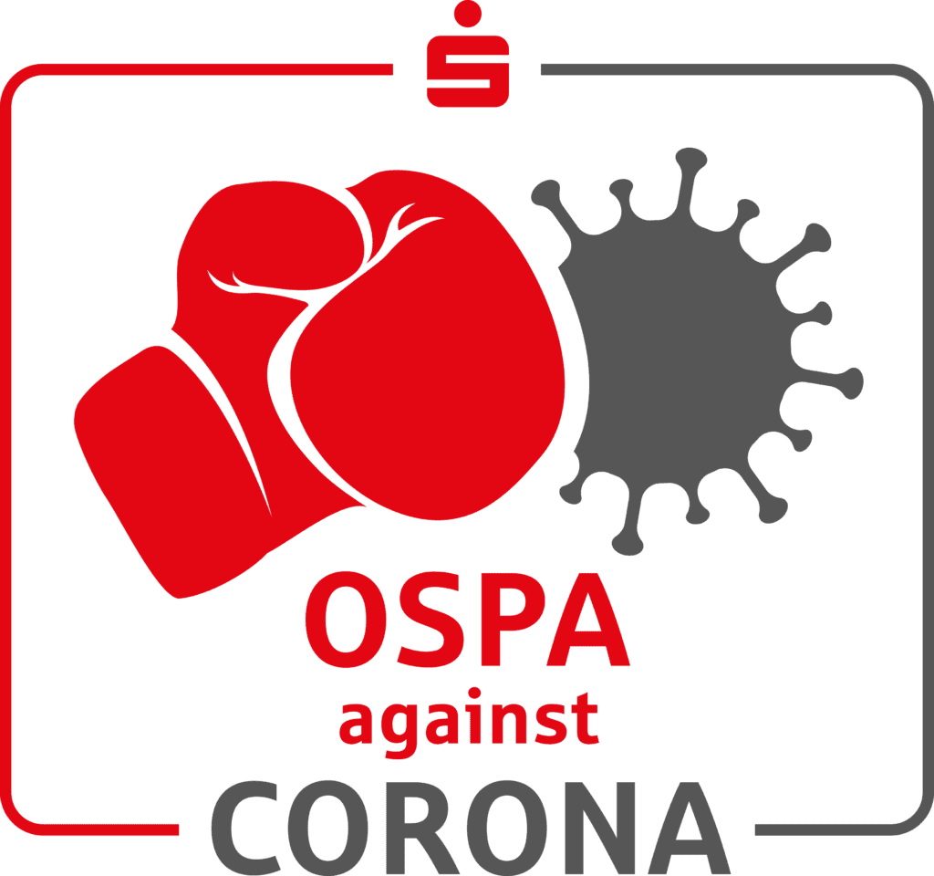 Logo OSPA against Corona