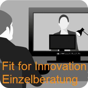 Fit for Innovation, die innoXperts Einzelberatung: direkt, diskret, digital