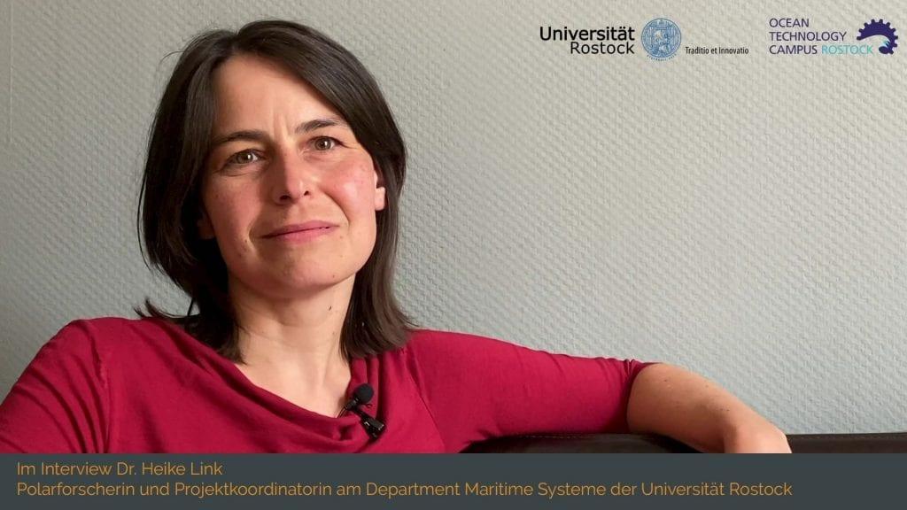 innoXperts Interview mit Polarforscherin Dr. Heike Link Innovation für den Zukunftscluster OTC Rostock