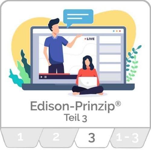 innoXperts live Webinar Edison-Prinzip® Teil 3 Kreativitätstechniken und neue Ideen entwickeln
