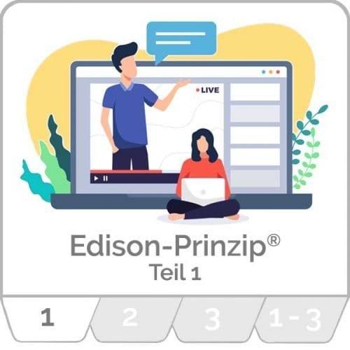innoXperts live Webinar Edison-Prinzip® Teil 1 Kreativitätstechniken und neue Ideen entwickeln