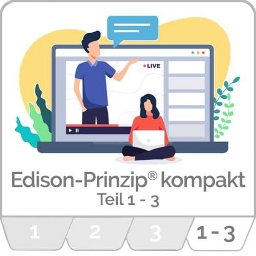 innoXperts live Webinar Edison-Prinzip® Teil 1 bis 3 Kreativitätstechniken und neue Ideen entwickeln